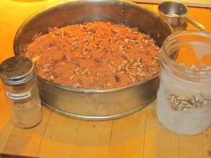 Mesquite Ginger Pear Tart Ready for the oven.
