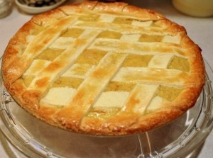 Luscious Easter Wheatberry pie, from judysculinaria.wordpress.com