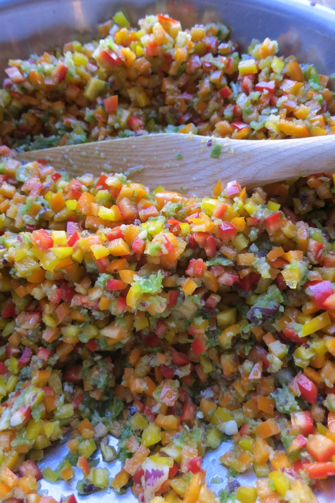 diced chiles