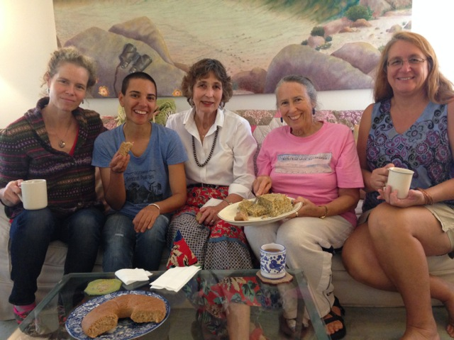 (From left) Aunt Linda, Amy Valdez Schwem, Carolyn Niethammer,  Tia Marta, and Jacqueline Soule.