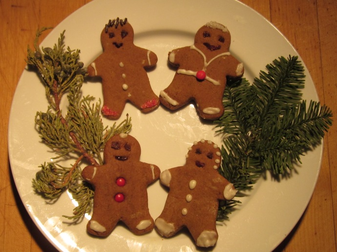 Mesquite Gingerfolk are tasty treats for the holidays.