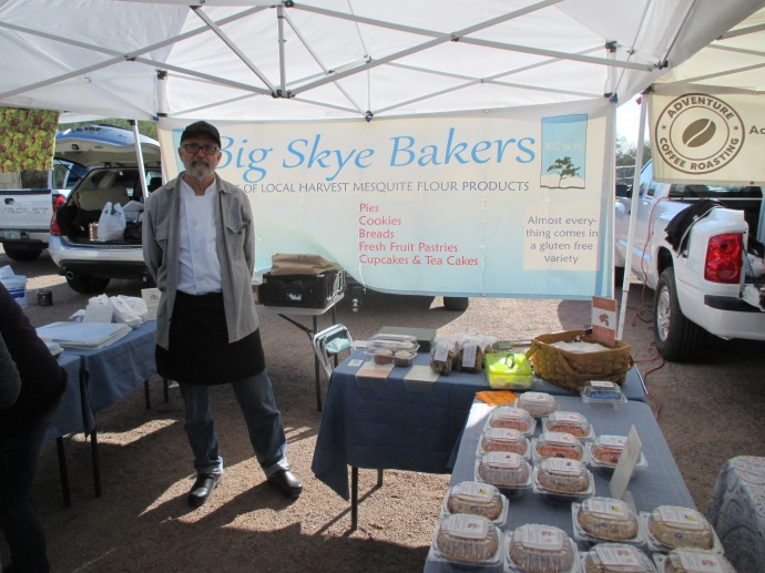 Bodie Robins offers a selection of delicious gluten-free baked goods at farmers markets in Tucson and Sierra Vista.
