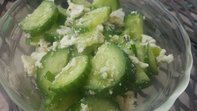 cuke salad