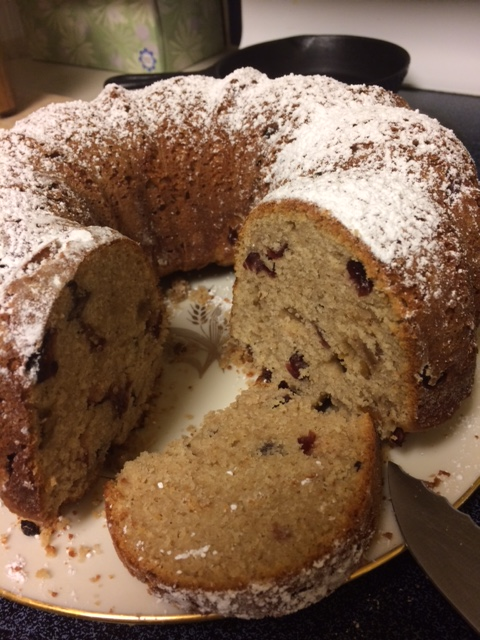 Sonoran Desert style Election Bread with local grains and local fruits--Ah the aromas!