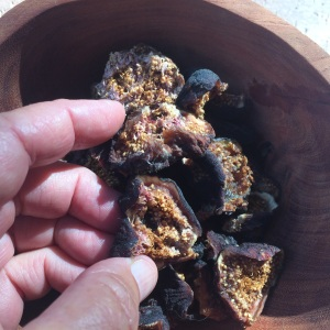 Sun-dried figs get even sweeter and more flavorful than when they are fresh!