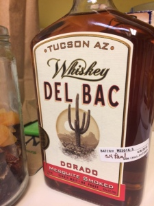 Tucson's best whiskey from Hamilton Distillers--made with organic local malted grain dried using local mesquite.