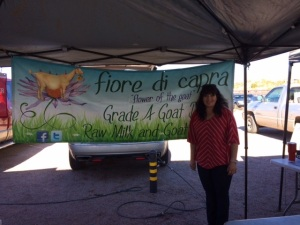 For the finest plain local carefully created goat cheese, find Fiore di Capra at Rillito Farmers Market, Sundays in Tucson