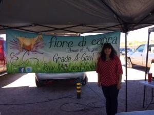 For the finest plain local carefully created goat cheese, find Fiore di Capra at Rillito Farmers Market, Sundays in Tucson