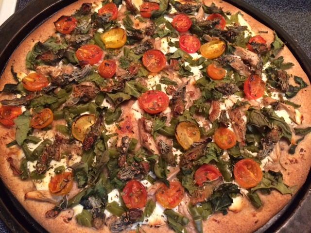 How could you top this Baja Arizona Pizza?!!! Our locally grown and wild desert-harvested ingredients can't be beat by any other veggie pizza!