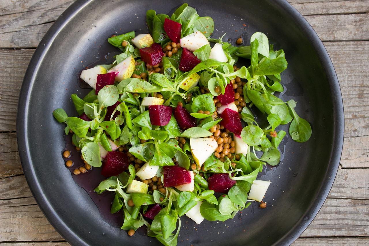 pear salad 1786327_1280